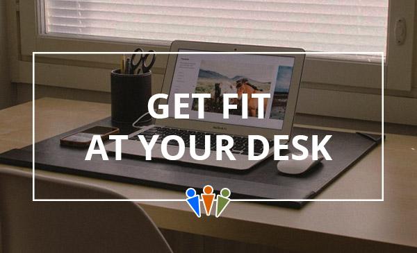 burn calories, desk, laptop