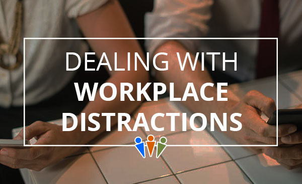 workplace distractions, office tips