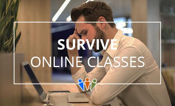 online classes, survival