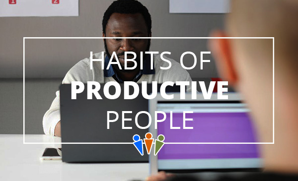 productive, habits, people