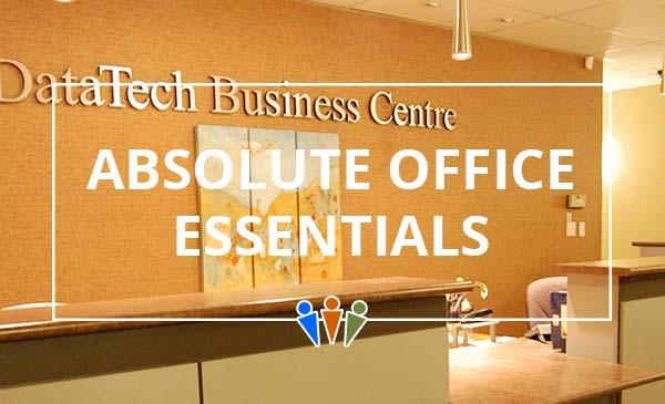office essentials, reception, datatech