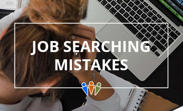 job search, mistake, laptop
