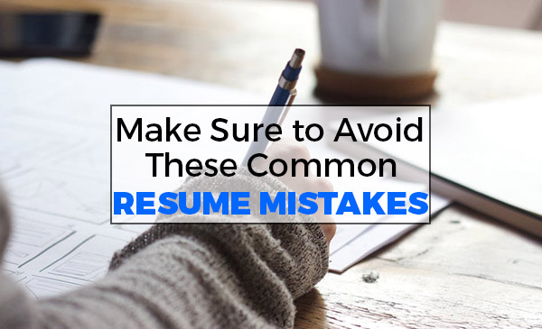 The Most Common Resume Mistakes  Datatech Business Centre  Blog