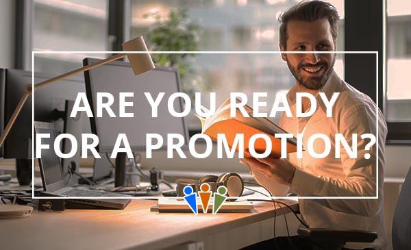 promotion, desk, man