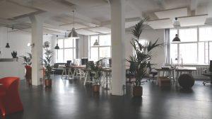 office, setup, room