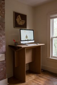 chairigami, desk, standing