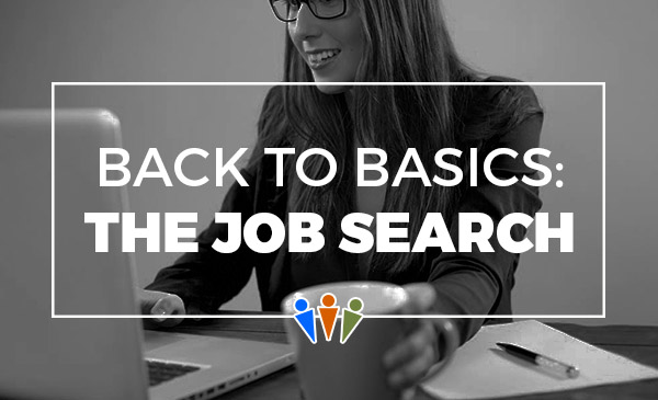 job search, basics, how to