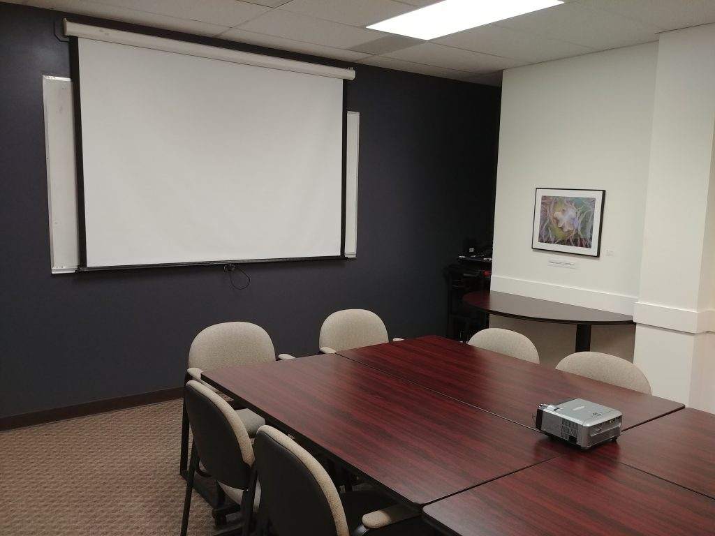 datatech, boardroom, projector, table