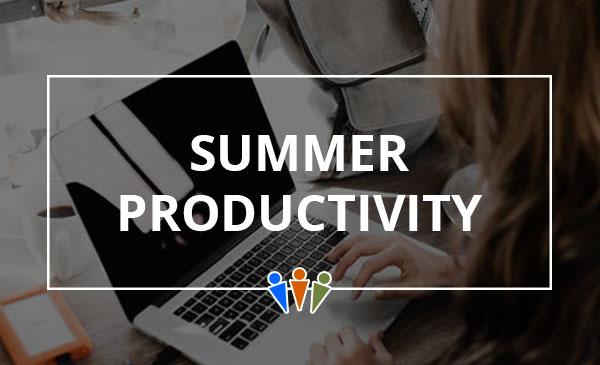 summer, productivity