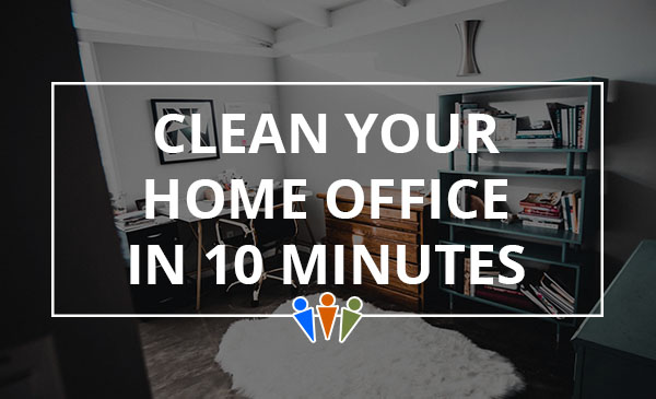 home office, cleaning, tips